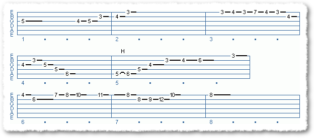 Main Sequence from A Substitute For The Diminished Scale - Page 2