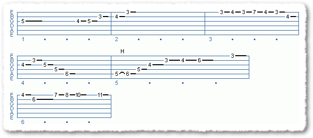Main Sequence from A Substitute For The Diminished Scale - Page 3