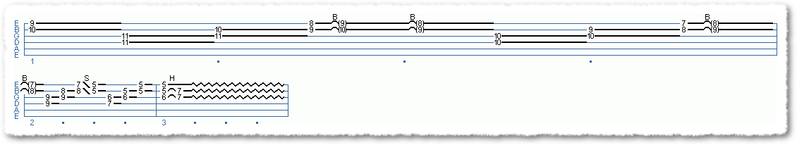 Main Sequence from Pedal Steel Simulator Licks