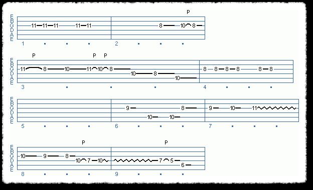Main Sequence from Scott Henderson Type Licks