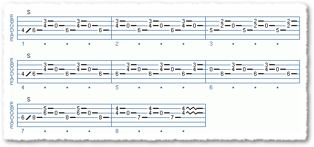Main Sequence from Albert Lee Type Licks