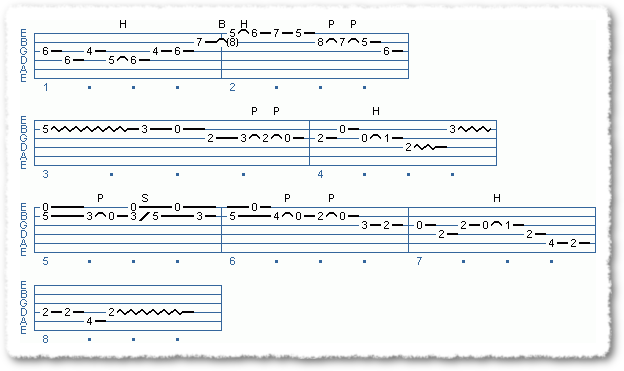 Main Sequence from Albert Lee Type Licks - Page 3