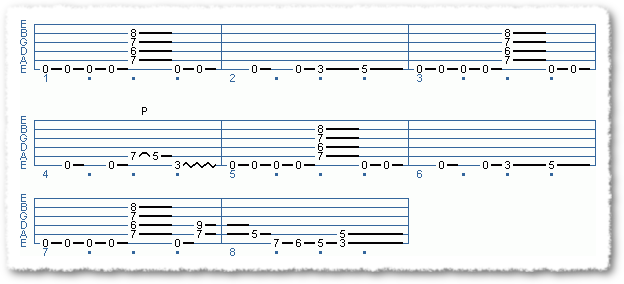 Main Sequence from 3 Classic Metal Riffs