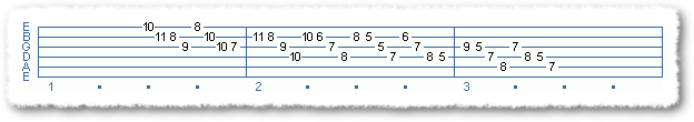 Main Sequence from 7th Chord Sequences