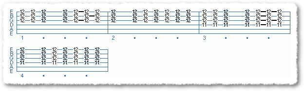 Main Sequence from Funk Comping Patterns in E - Page 2