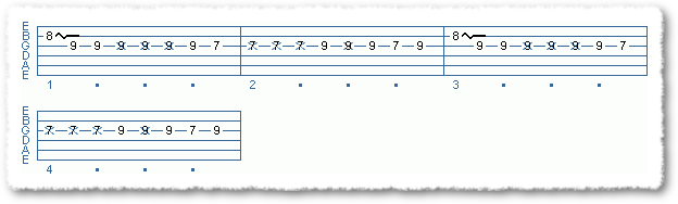 Main Sequence from Funk Comping Patterns in E - Page 3