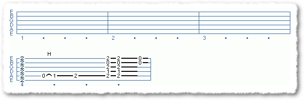 Main Sequence from Easy Blues Turnarounds