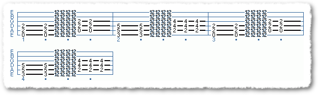 Main Sequence from Power Chord Basics I - Page 4