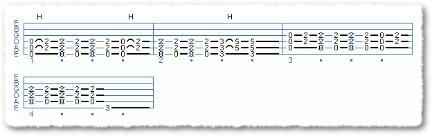 Main Sequence from Power Chord Basics II - Page 8