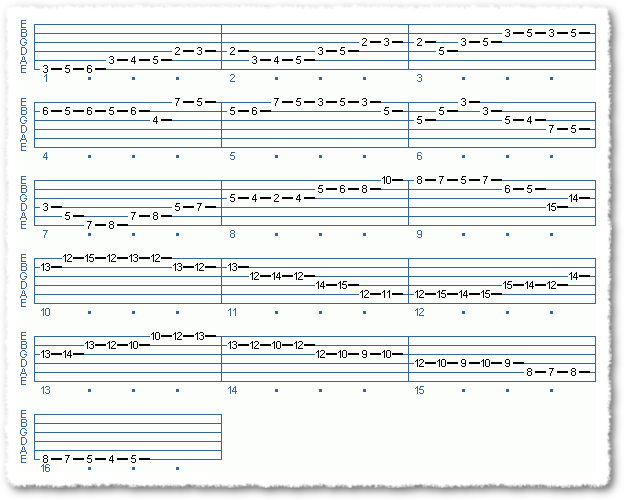 Main Sequence from Jazz Progression + Lead Line
