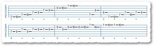 Main Sequence from Applying The Pentatonic Scale - Page 10