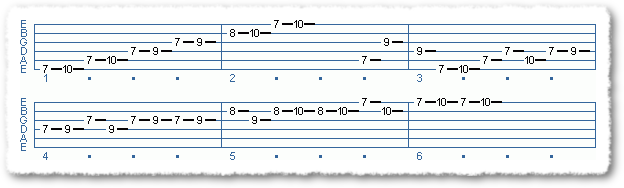 Main Sequence from Applying The Pentatonic Scale - Page 11