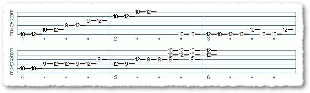 Main Sequence from Applying The Pentatonic Scale - Page 12