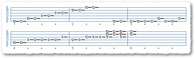 Main Sequence from Applying The Pentatonic Scale - Page 13
