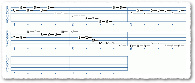 Main Sequence from Applying The Pentatonic Scale - Page 17