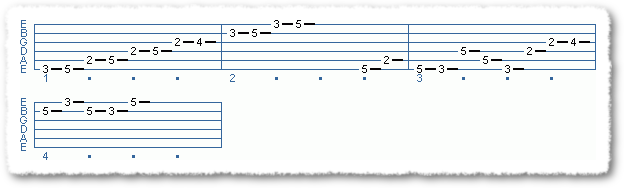 Main Sequence from Applying The Pentatonic Scale - Page 6