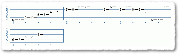 Main Sequence from Applying The Pentatonic Scale - Page 8