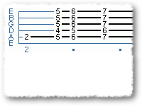 blues endings in E