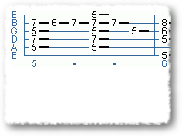 A Barre Chord Blues