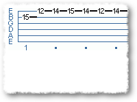 Michael Schenker' Type 'Lick' In E