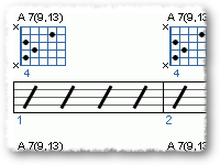 A13 - G13 Groove