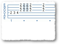 Funk/Dance Lick In F#minor