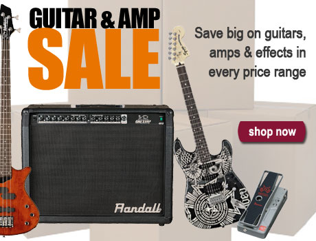 Shop for guitars, amps, effects, and more